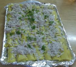 Resident Chef Contest Appetizer Entry 2nd Winner - Khandvi