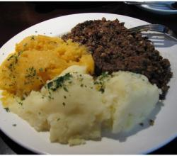 Scottish Dinner Menu