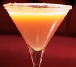 Caramel Martini Garnishing Tips