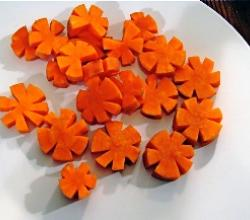Carrot Garnish-How To Tips & Ideas