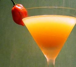 Chili Martini Garnishing Tips