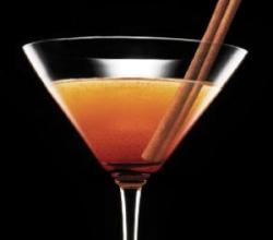 Cinnamon Martini Garnishing Tips