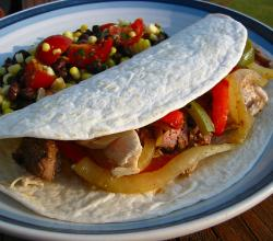 How To Eat Fajitas