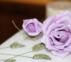 How to Make Sugar Paste Roses