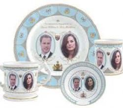 The merchandise shower for the Royal Wedding