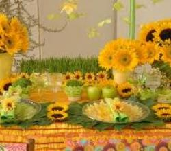 Indian Summer Party Ideas