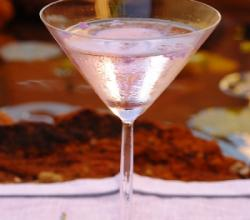Lavender Martini Garnishing Tips