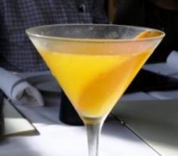Mango Martini Garnishing Tips