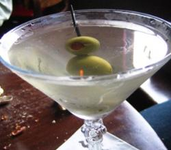 Olive Martini Garnishing Tips