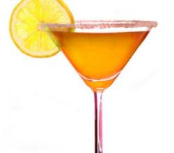 Orange Martini Garnishing Tips