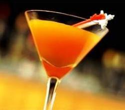 Pumpkin Martini Garnishing Tips