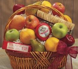 How To Create Fruit And Cheese Gift Baskets?