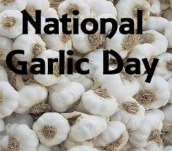 National Garlic Day - A Healthy Occasion