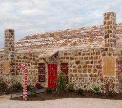 You Can Set Foot Inside This Gingerbread House