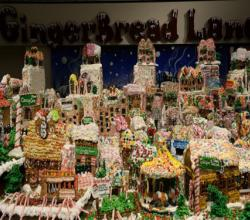 Don't Dare To Eat The Biggest Gingerbread Village
