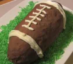 Football Ice Cream Cake Recipe