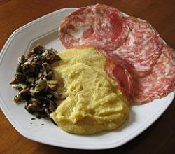 How To Eat Missultin E Polenta?