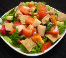 How To Eat Fattoush? Salads Here, Salads There And Salads In Lebanon