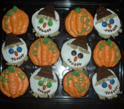 Pumpkin Fall Cupcake Ideas for Kids