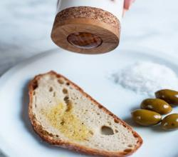 Roll-On Dispenser Spreads Olive Oil Cheer