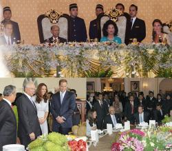 Kate & William Glitter At Malaysian State Dinner