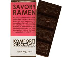 A Chocolate Bar With Ramen Noodles Inside!