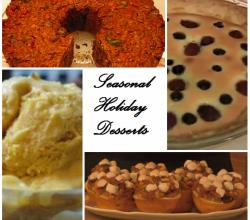Top 5 Seasonal Desserts For The Holidays