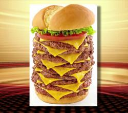 Jake's Wayback's 'Triple Triple Burger' Is Highly Calorific