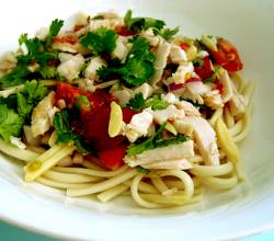 Asian Noodle Turkey Salad