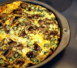 Cheese And Bacon Frittata