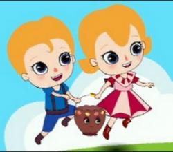 Jack And Jill - Olive Nursery Rhyme And Rescue
