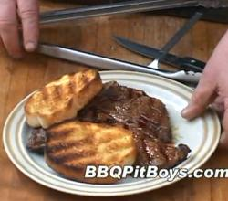 Whiskey Marinated Barbecued Jack Steak