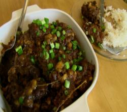 Pan Asian: Jamaican Oxtail Stew