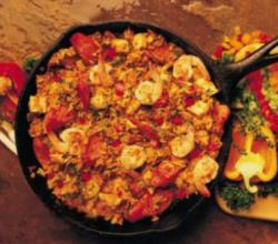 Andouille Sausage Chicken and Shrimp Jambalaya