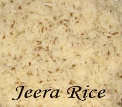 Jeera Rice- a delicious rice preparation