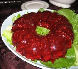 Jellied Cranberry Mold