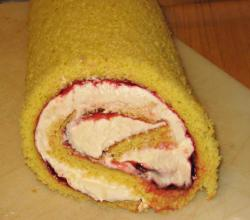 Tasty Jelly Roll Dessert Pastry