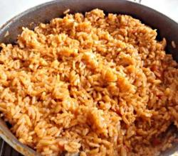 Beef Jollof Rice - African Food