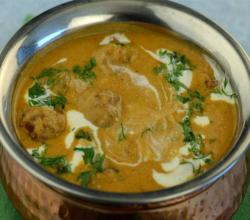 Spicy Kofta Kadhi by Tarla Dalal