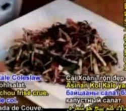 Healthy Kale Coleslaw - Part 2: Preparation Cont.