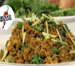 Keema or Curried Ground Beef