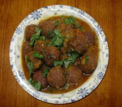 Kofta ( Indian Meatballs )
