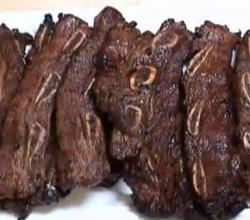 Korean Barbecued Spare Ribs