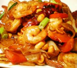 Homemade Kung Pao Shrimp