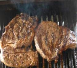 La Michoacana Rib Eyes Grilled on the Solaire Infrared Portatable Anywhere