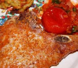 Lamb Cutlets With Tomatoes
