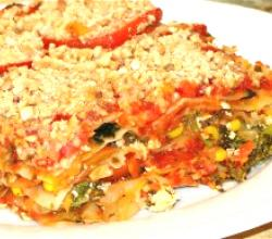 Tasty Vegetarian Sweet Potato Lasagna
