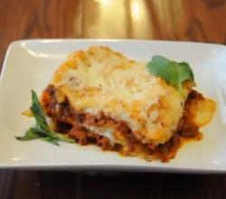 Lasagna with Bechamel Sauce