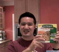 Lean Pockets Pretzel Bread Grilled Chicken Jalapeno Cheddar Review