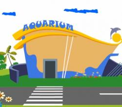 Learn about Sea Creatures - Elly Visits an Aquarium!